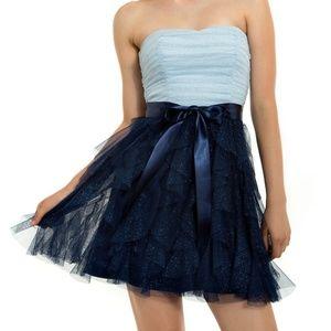 💙GORGEOUS GLITTER CORKSCREW DRESS